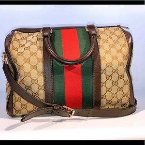 Gucci tote with crossbody strap